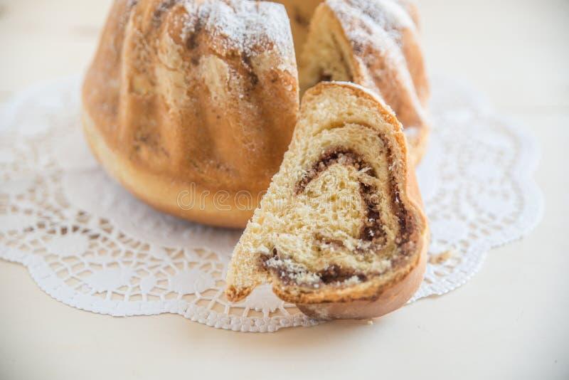 Reindling, niemiec Easter tort zdjęcie stock