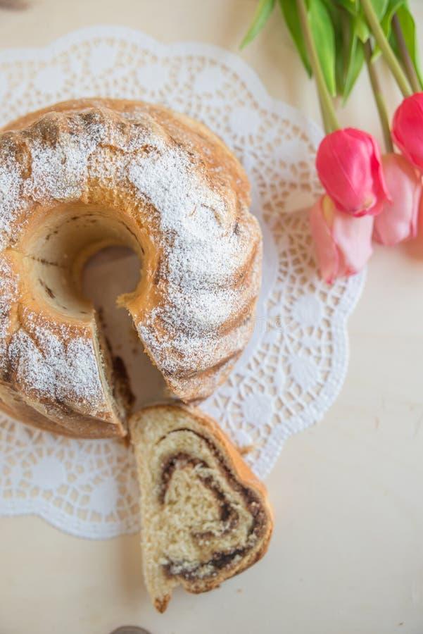 Reindling, niemiec Easter tort fotografia stock
