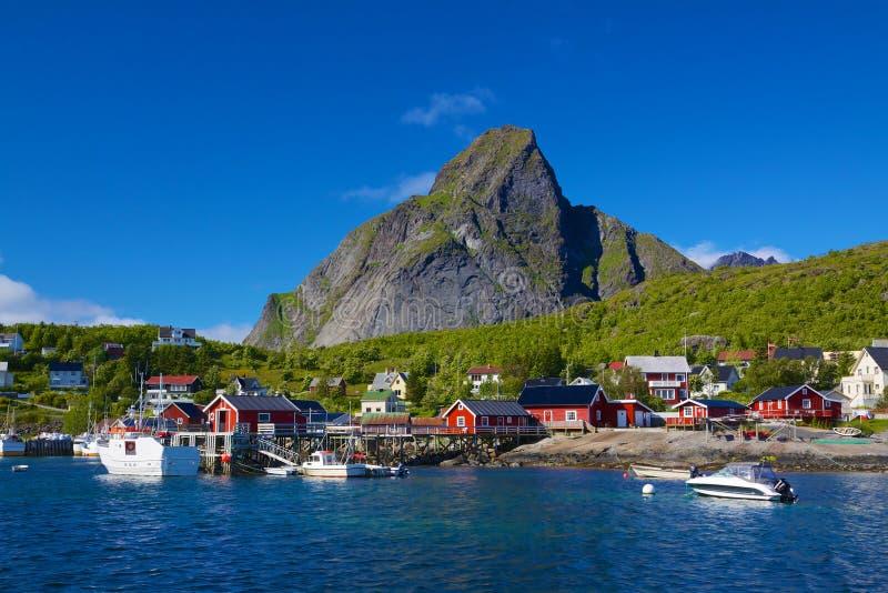 Reine на Lofoten стоковые фото