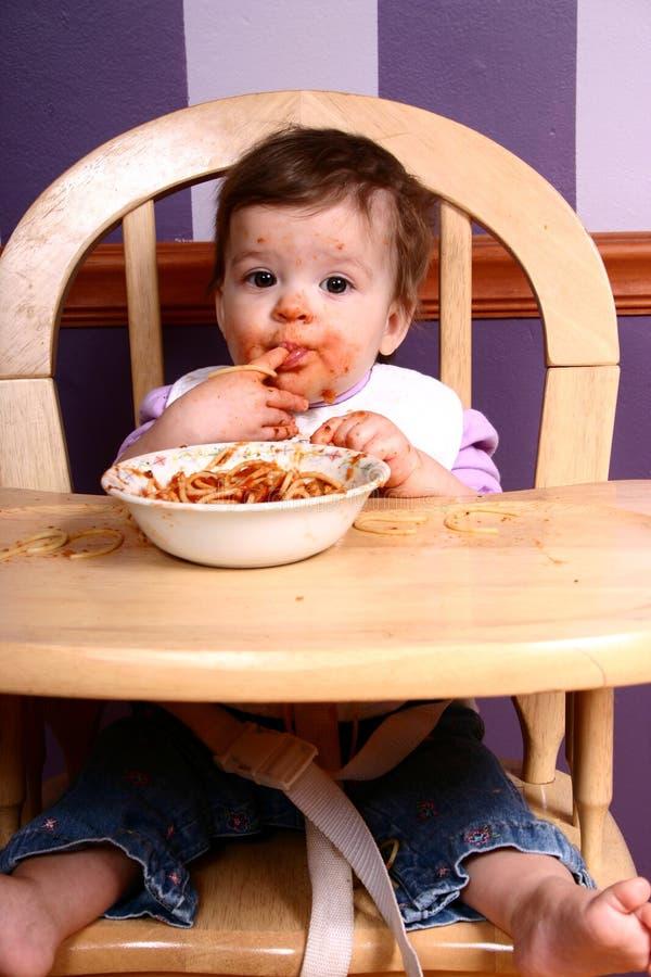 Reine #1 de spaghetti photo libre de droits