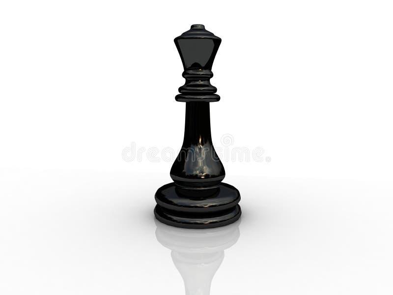 Reine d'échecs illustration de vecteur
