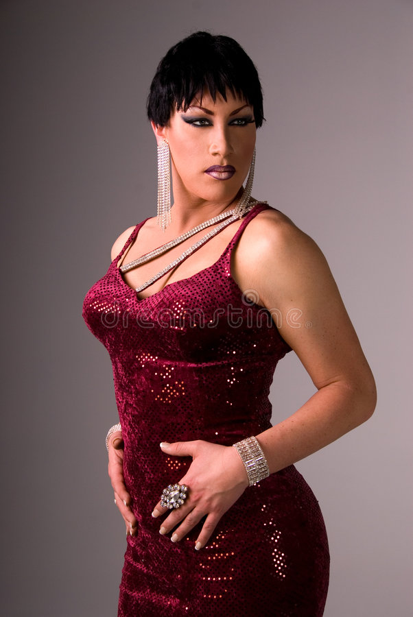 Reine de frottement de Glamor. photos libres de droits