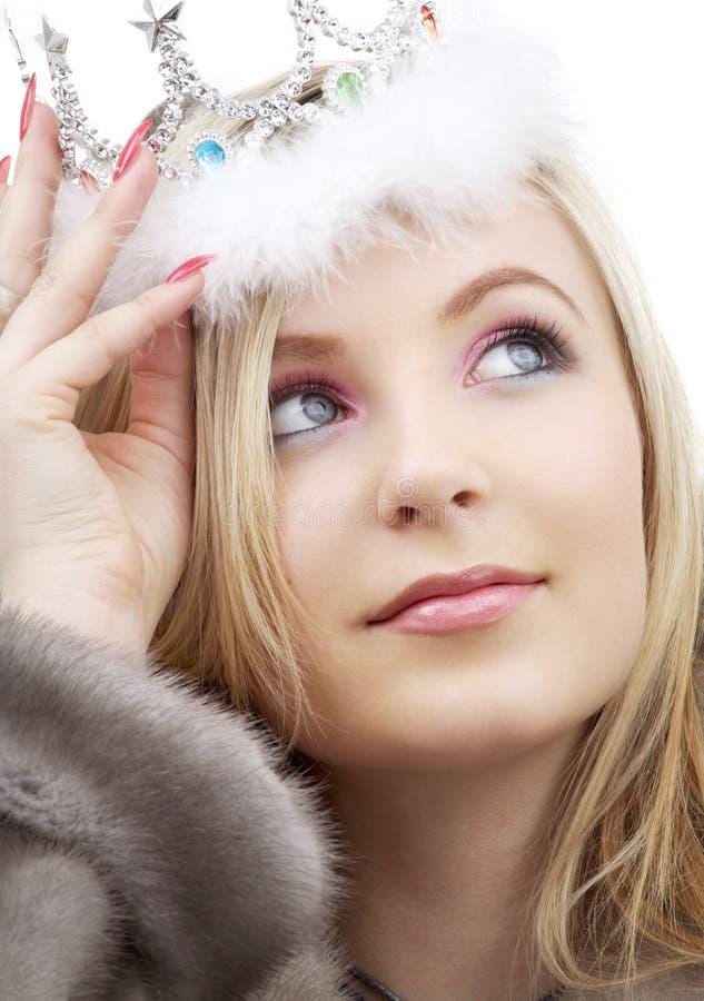 Reine de l'hiver photographie stock