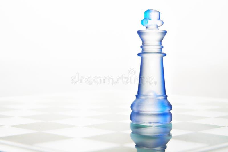 Reine de verre d'échecs images stock