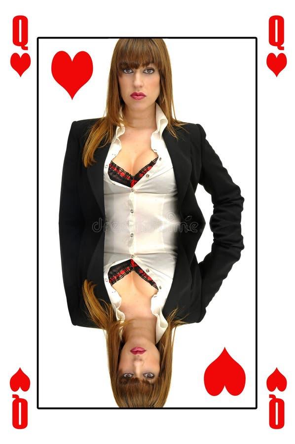 Reine Des Coeurs Image stock