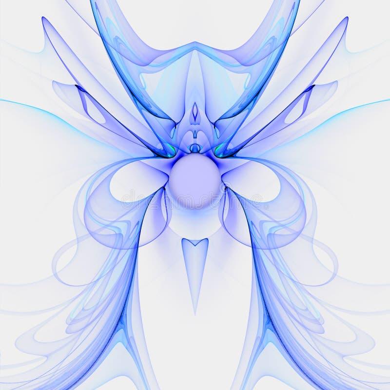 Reine féerique avec la bille en cristal illustration libre de droits