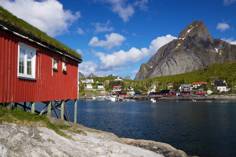 Reine su Lofoten immagine stock libera da diritti