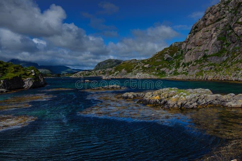 Reine sul Lofoten fotografia stock libera da diritti