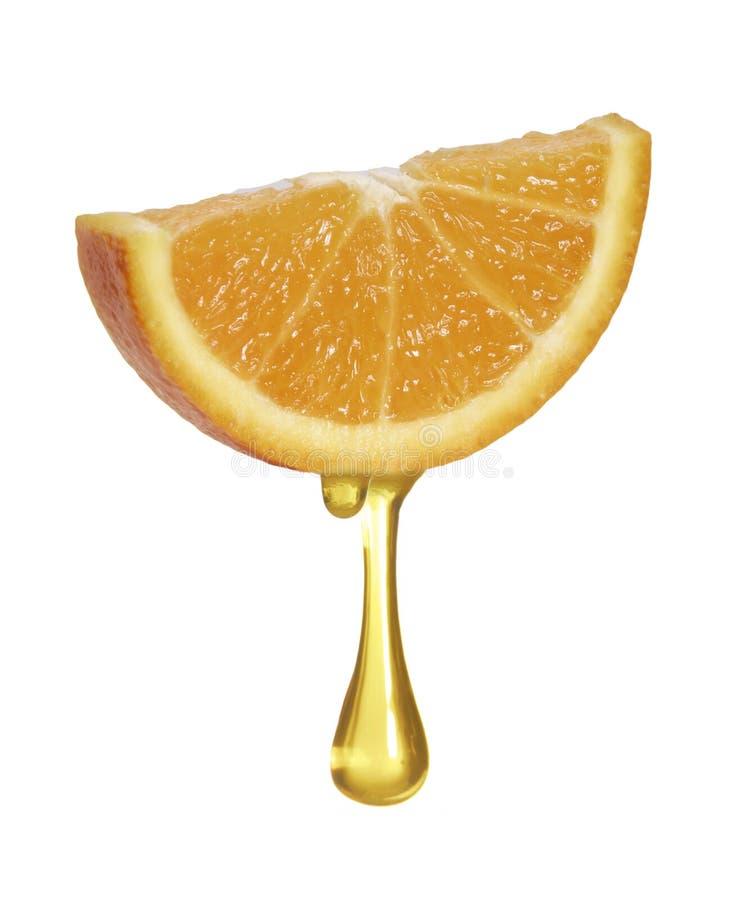 Reiner Orangensaft. stockfotografie