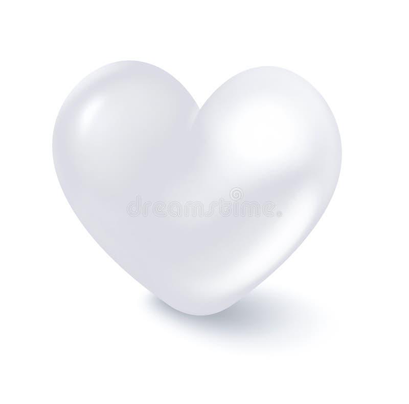 Reines Herz vektor abbildung