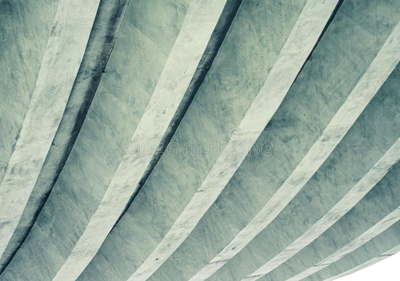 Reinforced Concrete Structure of Highway Overpass on Construction Project royalty free stock images