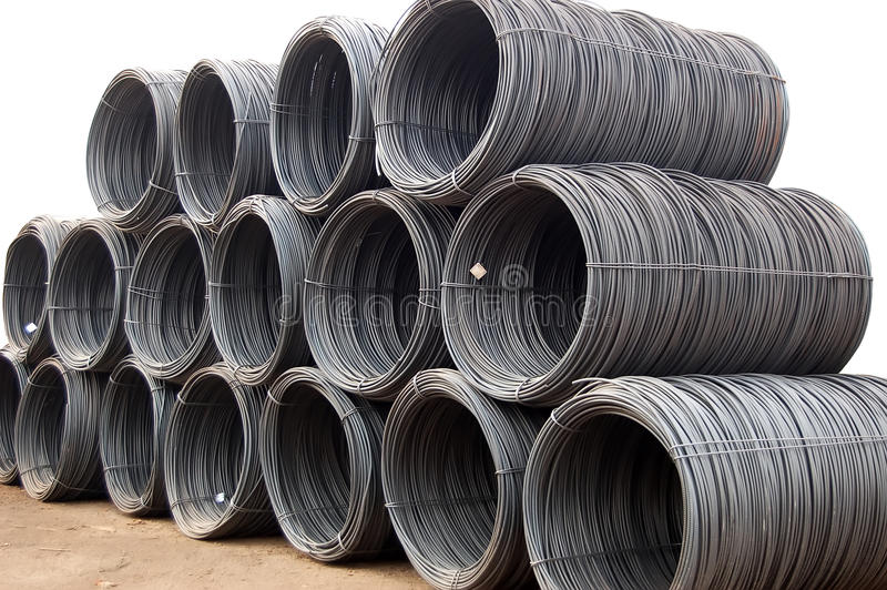 Download Reinforcement Steel wire stock image. Image of cable - 12948211