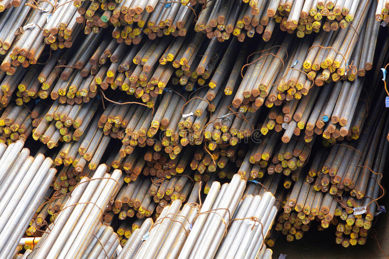Download Reinforcing Bar stock image. Image of iron, building - 23541693