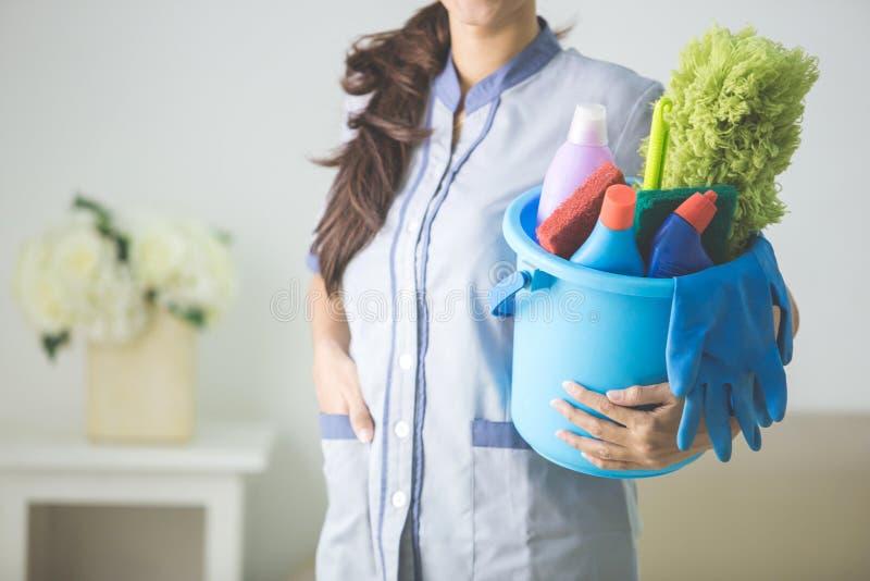 Reinigung, Mädchen, Frauen lizenzfreies stockbild