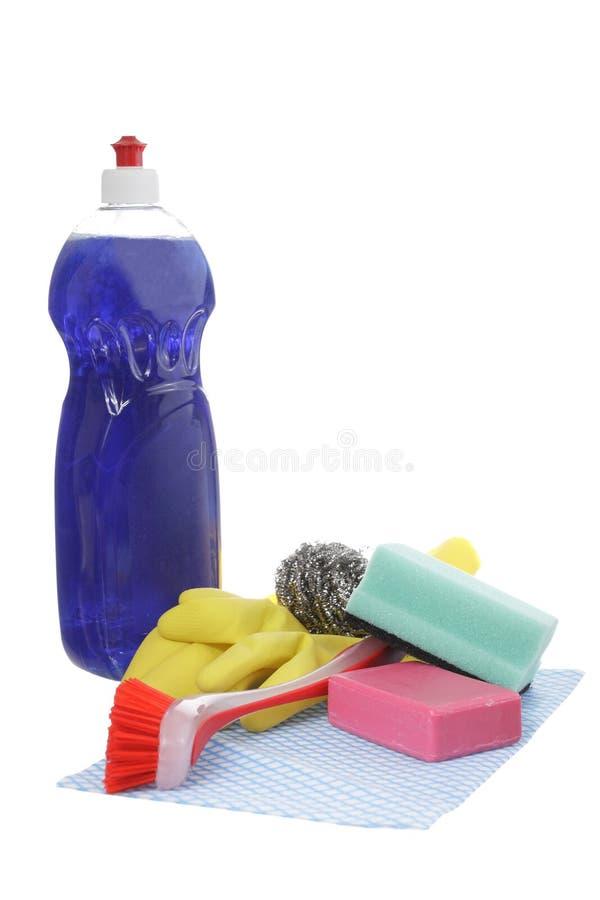 Reinigungsprodukt lizenzfreies stockfoto