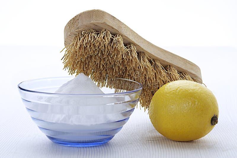 Reinigungsvorzüge des Bikarbonats lizenzfreies stockbild