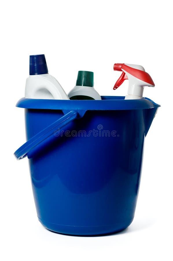 Reinigungszubehör stockfoto