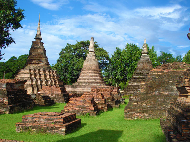 Reino de Ayutthaya imagem de stock royalty free