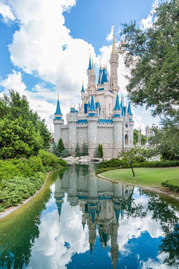 Reino de la magia de Disney foto de archivo libre de regalías