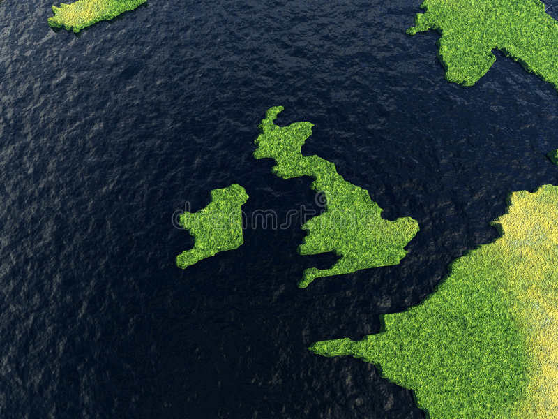 Reino Unido ilustração do vetor