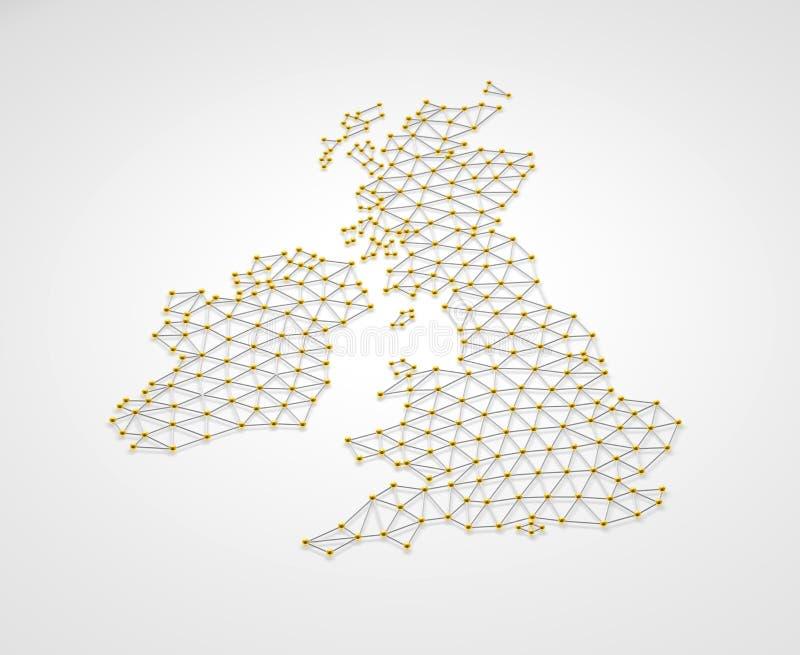 Reino Unido 3D stock de ilustración