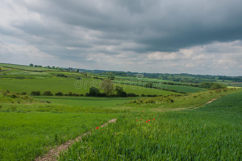 Reino Unido - Donington em Bain imagens de stock royalty free