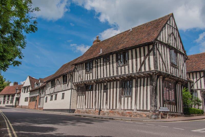 Reino Unido - Lavenham fotos de stock royalty free