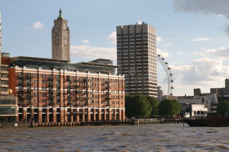 Reino Unido, Londres, OXO-torre imagem de stock