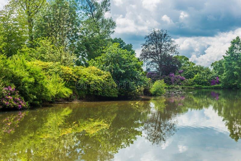 Reino Unido, Norfolk, Sandringham, 2016, junho, 15: Os jardins do Que fotografia de stock royalty free