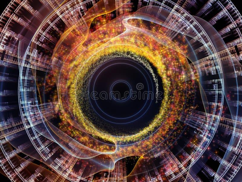 Reinos de la oscilación radial libre illustration
