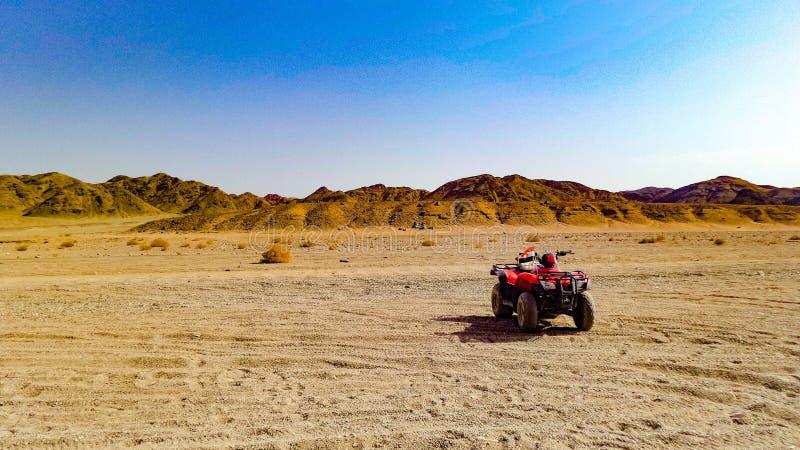 Reis aan de Egyptische woestijn royalty-vrije stock fotografie