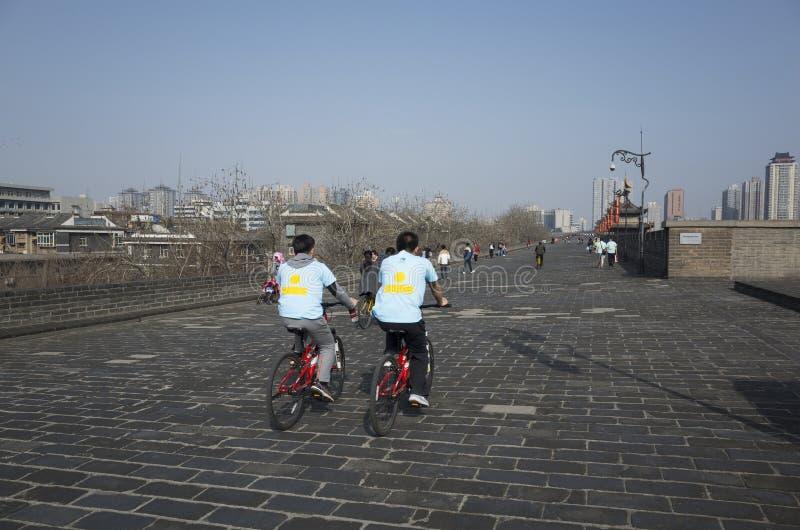 Reis aan Xi'an stock foto