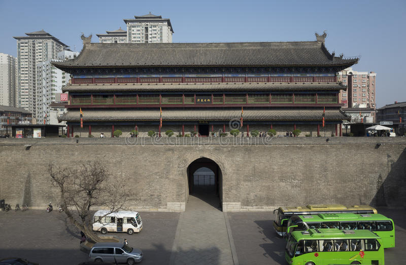 Reis aan Xi'an stock foto's