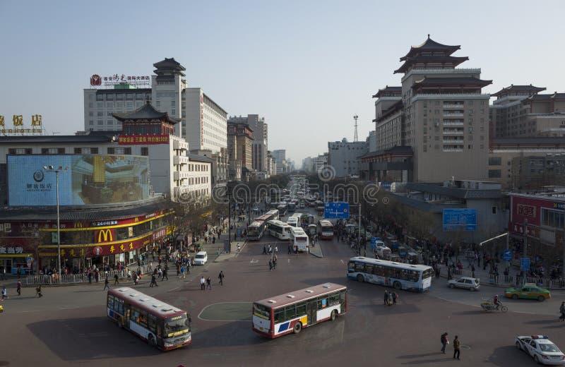 Reis aan Xi'an stock fotografie