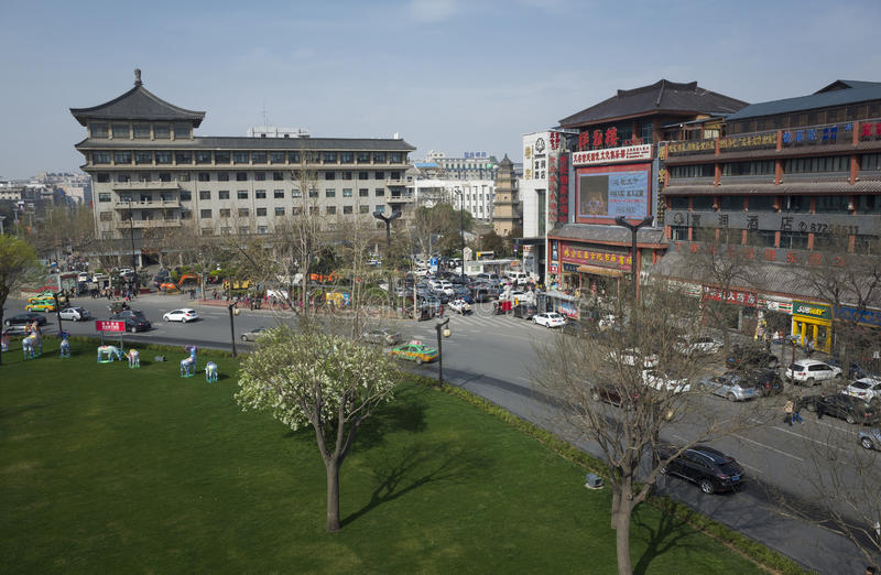 Reis aan Xi'an royalty-vrije stock afbeeldingen