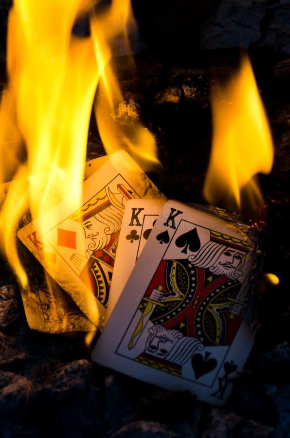 Reis ardentes imagens de stock royalty free