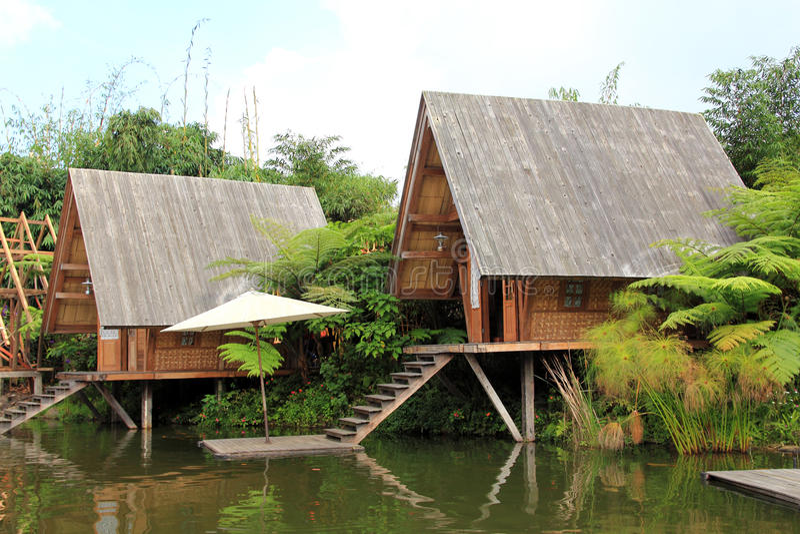 Reis in Bandung, Indonesië stock foto's