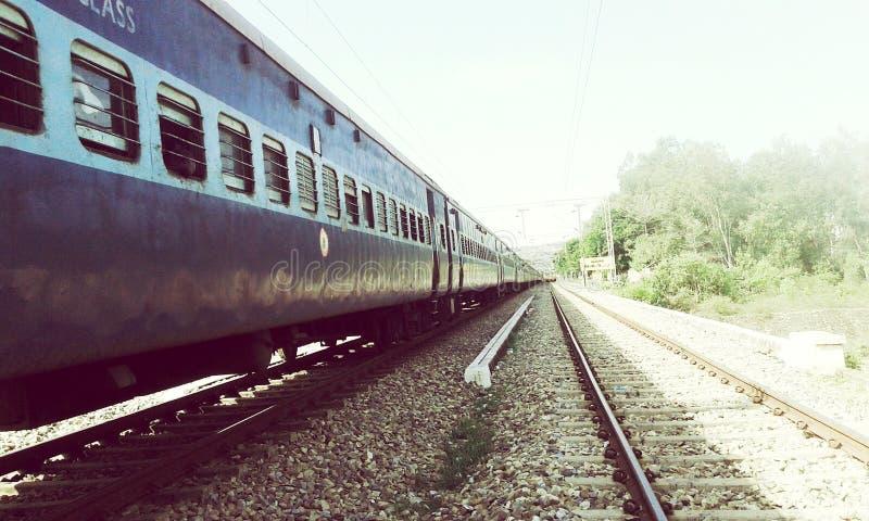 Reis door trein stock fotografie