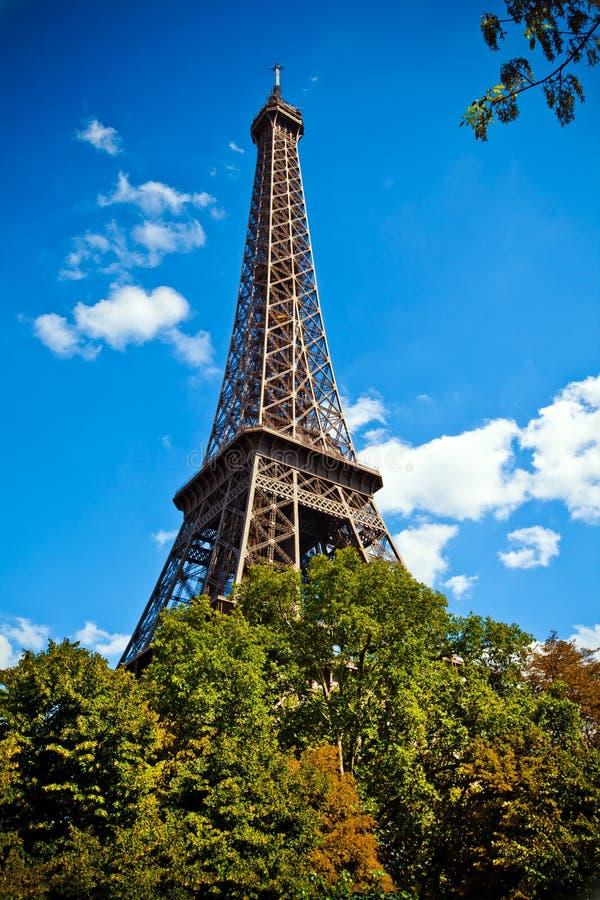 Reis Eiffel, de Toren van Eiffel, Parijs, Frankrijk royalty-vrije stock fotografie