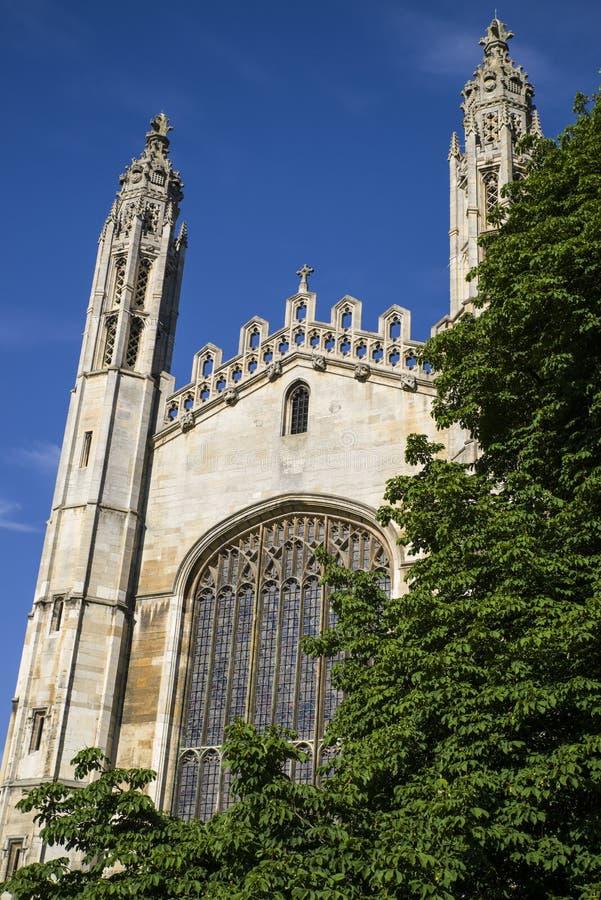 Reis Faculdade Cambridge imagens de stock royalty free