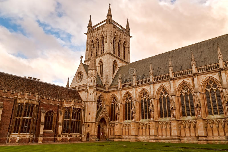 Reis Faculdade, Cambridge Reino Unido foto de stock royalty free