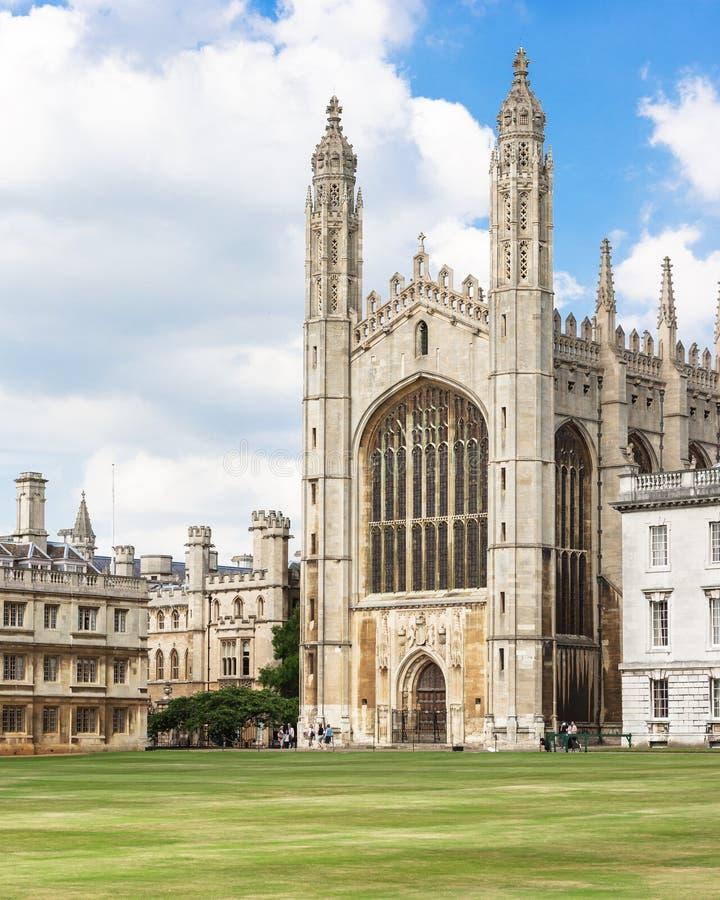 Reis Faculdade Capela na Universidade de Cambridge Cambridge, Reino Unido foto de stock