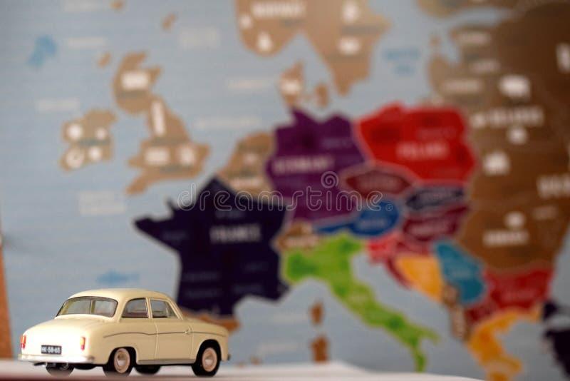 Reis in heel Europa royalty-vrije stock afbeelding