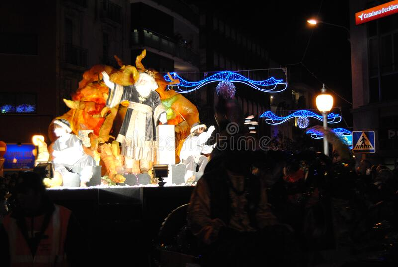 Reis Igualada 2015 lizenzfreies stockbild