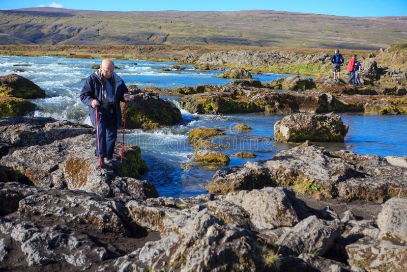 Reis in IJsland royalty-vrije stock foto's