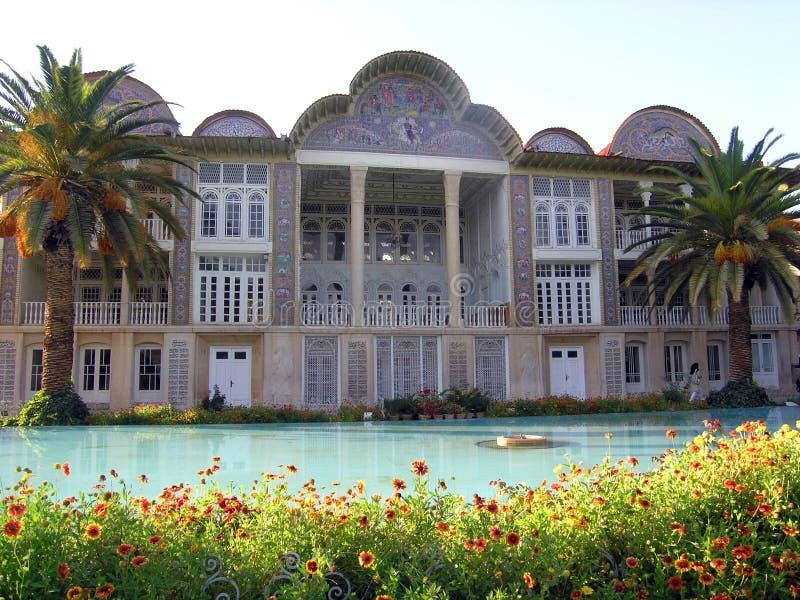 Reis Iran: Qavamhuis in Shiraz stock foto