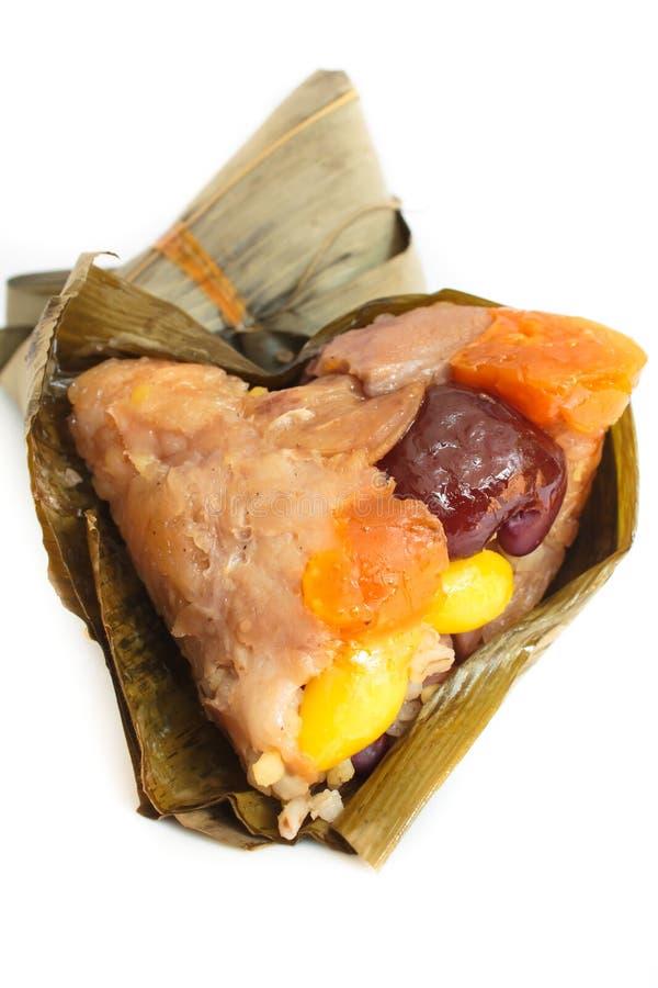 Reis Mehlkloß, zongzi oder bakcang. lizenzfreies stockbild