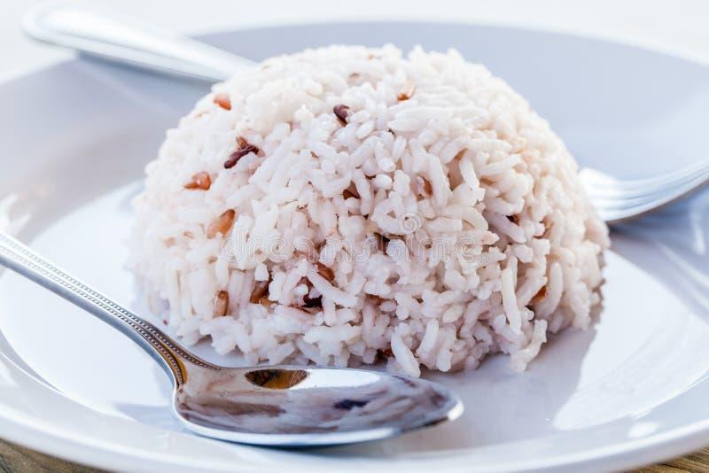 Diät weißer gekochter Reis