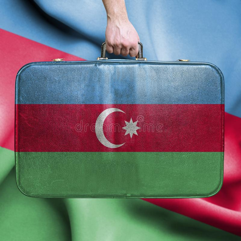 Reis naar azerbaijan stock foto