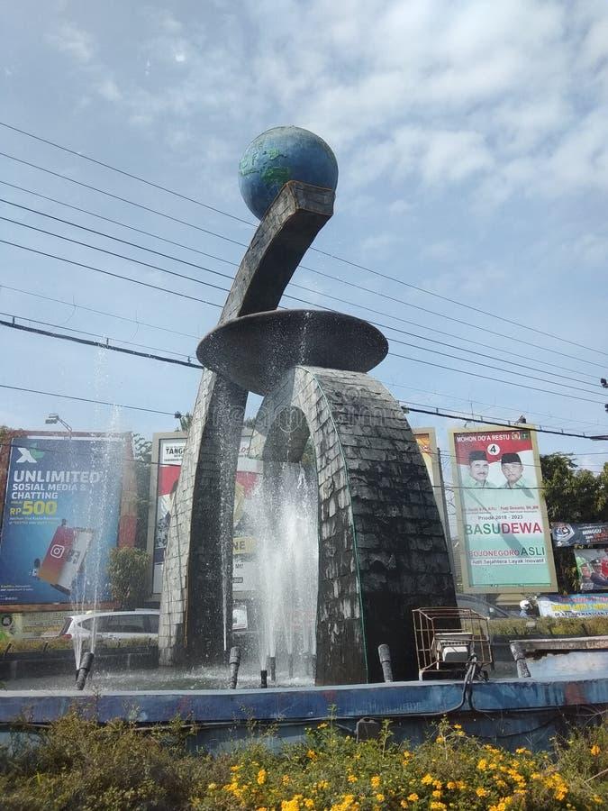 Reis naar Bojonegoro-Oost-Java, Indonesië stock foto's